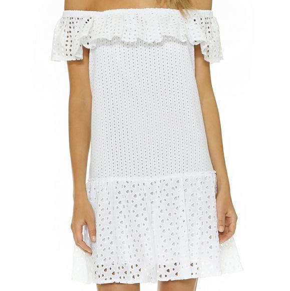 5594ba5d9bd215 💥HP💥Rebecca Minkoff Celestine Eyelet Dress. M 5ac0fd78b7f72b10fb4fac96
